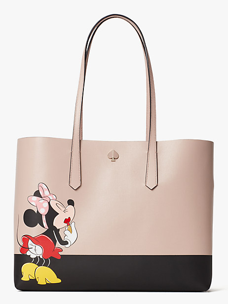 kate spade new york x minnie mouse large tote by kate spade new york
