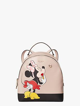 kate spade new york x minnie mouse medium backpack by kate spade new york non-hover view