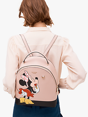kate spade new york x minnie mouse medium backpack by kate spade new york hover view