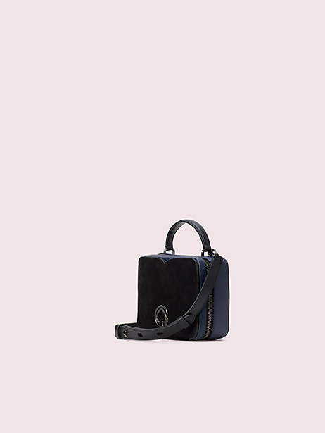 Vanity sparkle mini top handle bag | Kate Spade New York