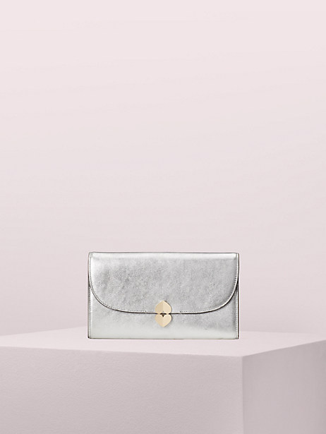 lula metallic clutch by kate spade new york