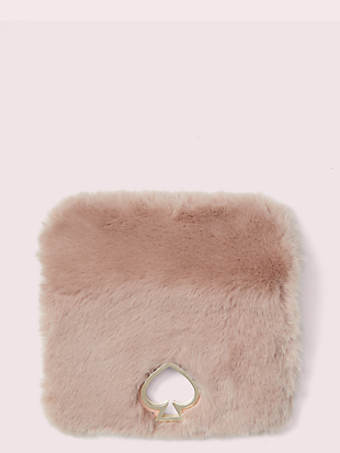 make it mine faux fur flap by kate spade new york non-hover view