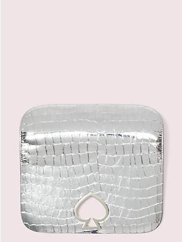 make it mine metallic croc-embossed flap, , rr_productgrid