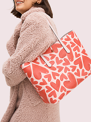 molly ever fallen large tote by kate spade new york hover view