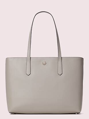 molly large zip-top work tote by kate spade new york non-hover view