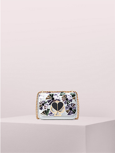 nicola floral twistlock small convertible chain shoulder bag, , rr_productgrid