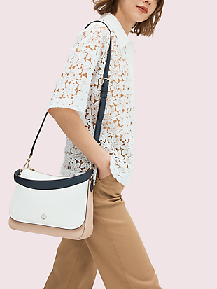 polly medium convertible flap shoulder bag by kate spade new york hover view