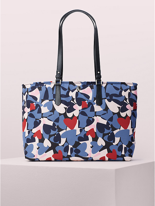 taylor heart party large tote, , rr_large
