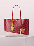 kate spade new york x tom & jerry large tote, , s7productThumbnail