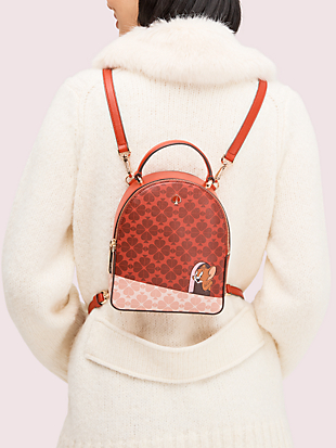 kate spade new york x tom & jerry mini convertible backpack by kate spade new york hover view