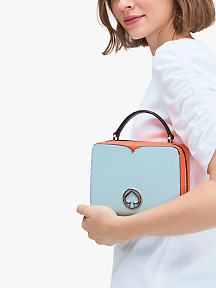 vanity mini top-handle bag by kate spade new york hover view