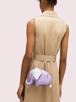 tiny elephant crossbody by kate spade new york hover view