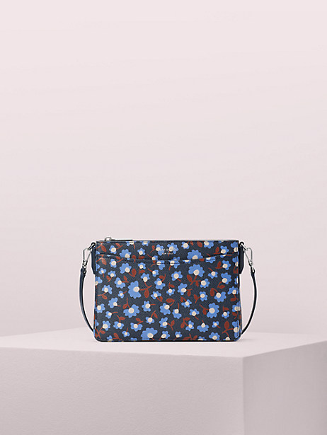 margaux party floral medium convertible crossbody by kate spade new york