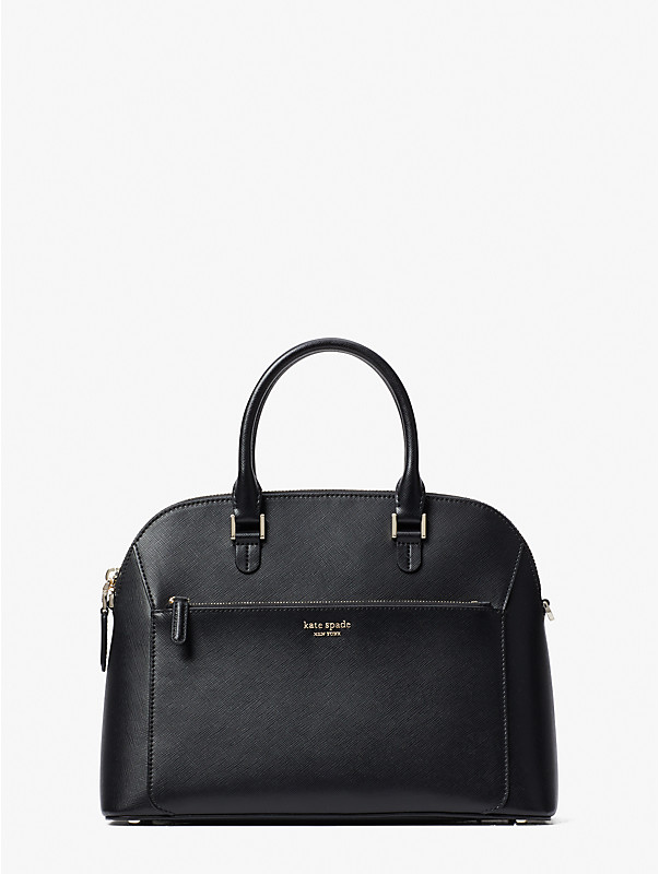 louise medium dome satchel, , rr_large