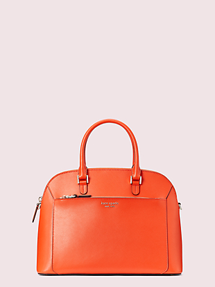louise medium dome satchel by kate spade new york non-hover view