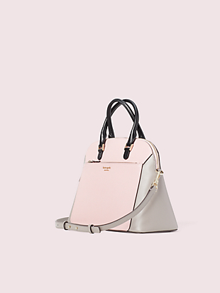 louise medium dome satchel by kate spade new york hover view