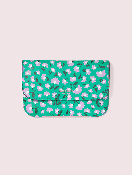 make it mine customizable camera bag party floral pouch by kate spade new york
