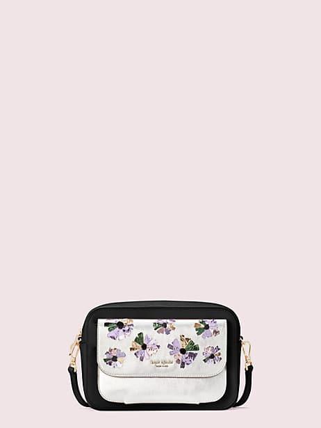 케이트 스페이드 카메라백 파우치 Kate Spade make it mine customizable camera bag floral pouch