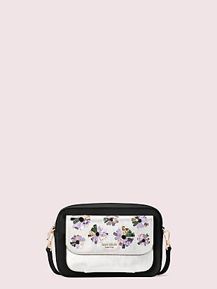 make it mine customizable camera bag floral pouch by kate spade new york non-hover view