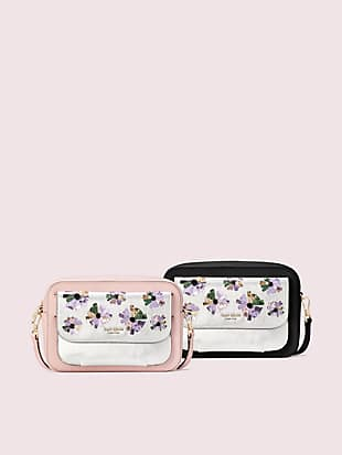 make it mine customizable camera bag floral pouch by kate spade new york hover view
