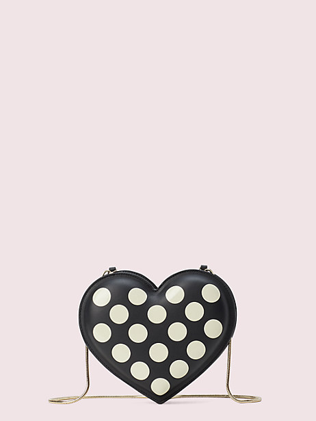 3d bikini dot heart crossbody by kate spade new york