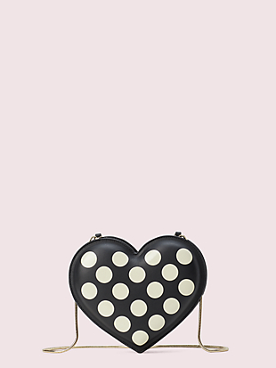 3d bikini dot heart crossbody by kate spade new york non-hover view