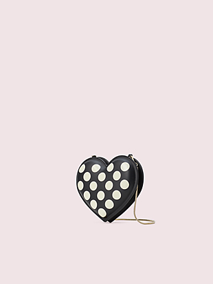 3d bikini dot heart crossbody by kate spade new york hover view