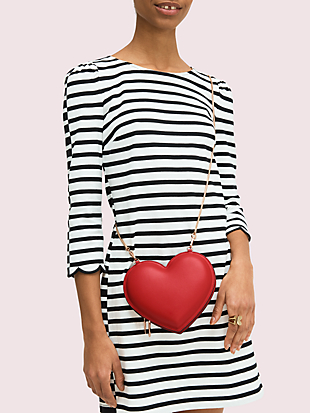 3d heart crossbody by kate spade new york hover view