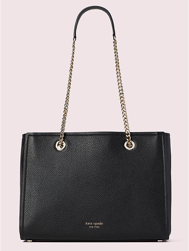 amelia pebble large tote, , rr_large