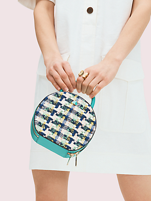 andi tweed mini chain canteen bag by kate spade new york hover view
