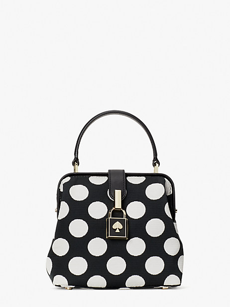 remedy bikini dot small top-handle bag by kate spade new york