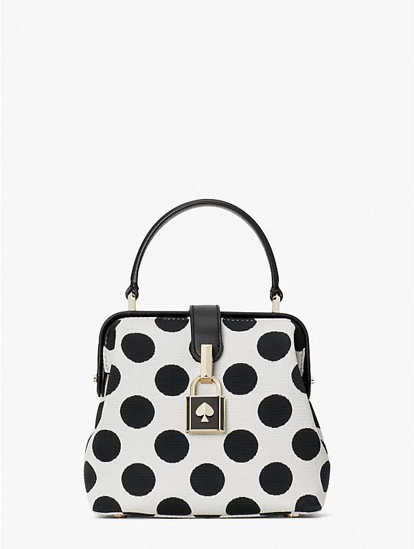 remedy bikini dot small top-handle bag, , rr_large