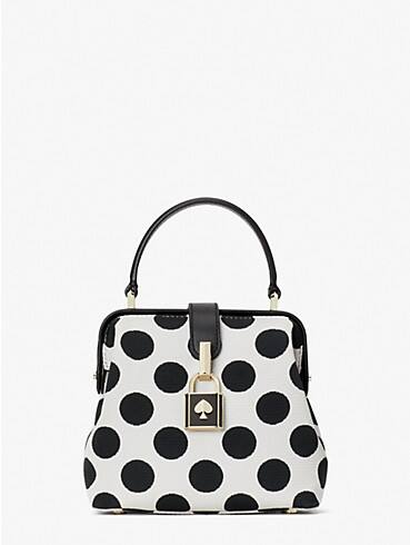 remedy bikini dot small top-handle bag, , rr_productgrid
