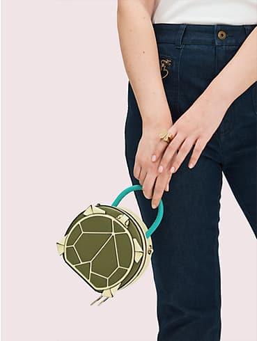 Runde Andi Mini-Tasche in Schildkrötenform mit Kettenriemen, , rr_productgrid