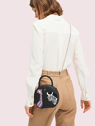 andi safari mini chain canteen bag by kate spade new york hover view