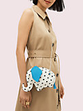 tiny cabana dot elephant crossbody, , s7productThumbnail