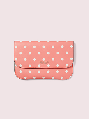 make it mine cabana dot pouch by kate spade new york non-hover view