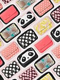 make it mine cabana dot pouch, , s7productThumbnail