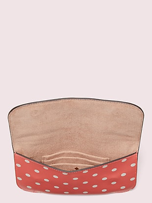 cabana dot pouch by kate spade new york hover view