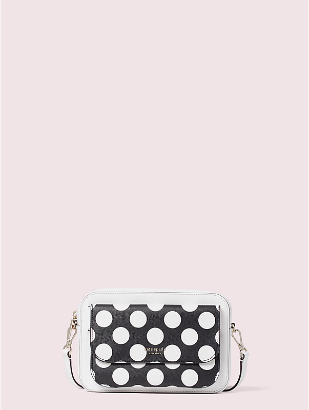 make it mine bikini dot embossed pouch, , rr_large