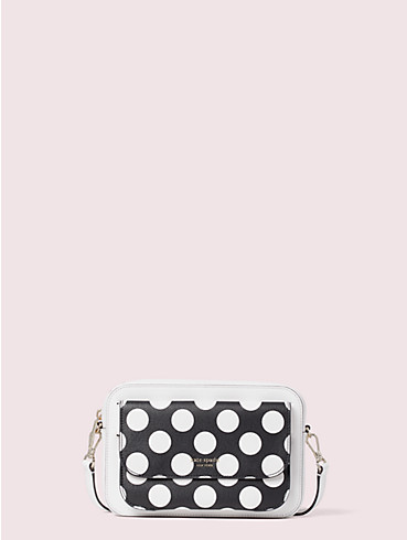make it mine bikini dot embossed pouch, , rr_productgrid