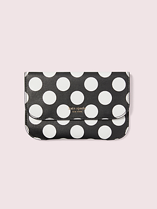 make it mine bikini dot embossed pouch by kate spade new york non-hover view