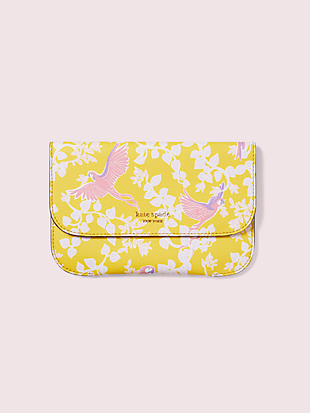 make it mine bird party pouch by kate spade new york non-hover view