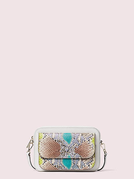 make it mine python-embossed pouch by kate spade new york
