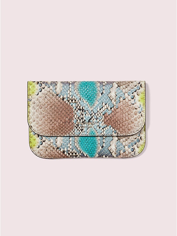 python-embossed pouch, , rr_large