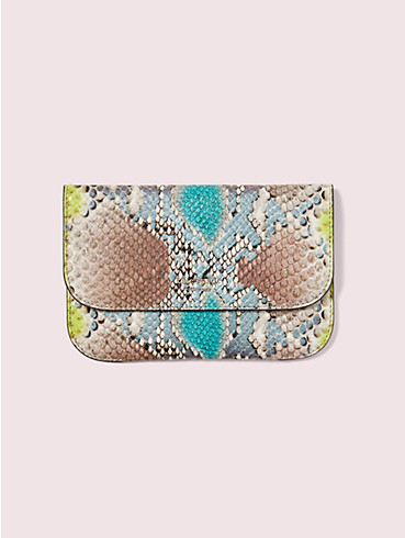 make it mine python-embossed pouch, , rr_productgrid