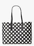 molly bikini dot large tote, , s7productThumbnail