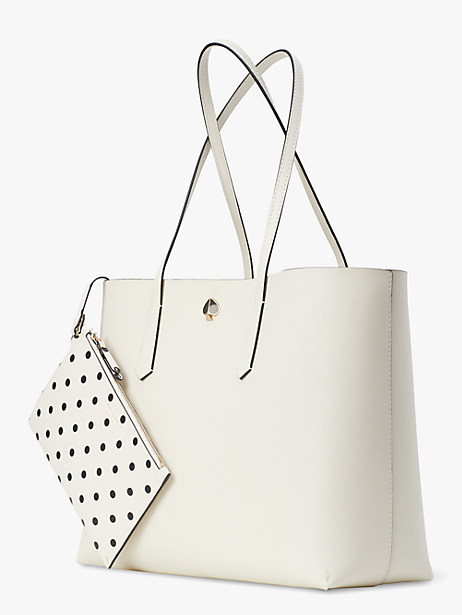 molly cabana dot pop large tote by kate spade new york