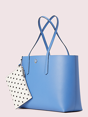 molly cabana dot pop large tote by kate spade new york non-hover view