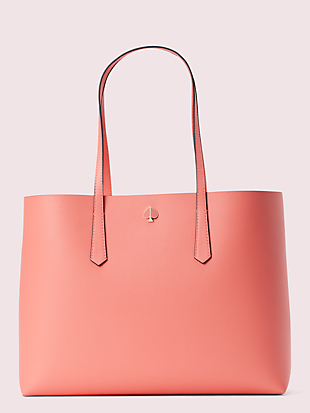 molly falling flower pop large tote by kate spade new york hover view